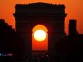 Apus de soare in Paris (Franta)