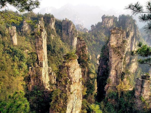 Zhangjiajie-Parcul-National
