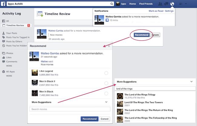 caracteristica facebook
