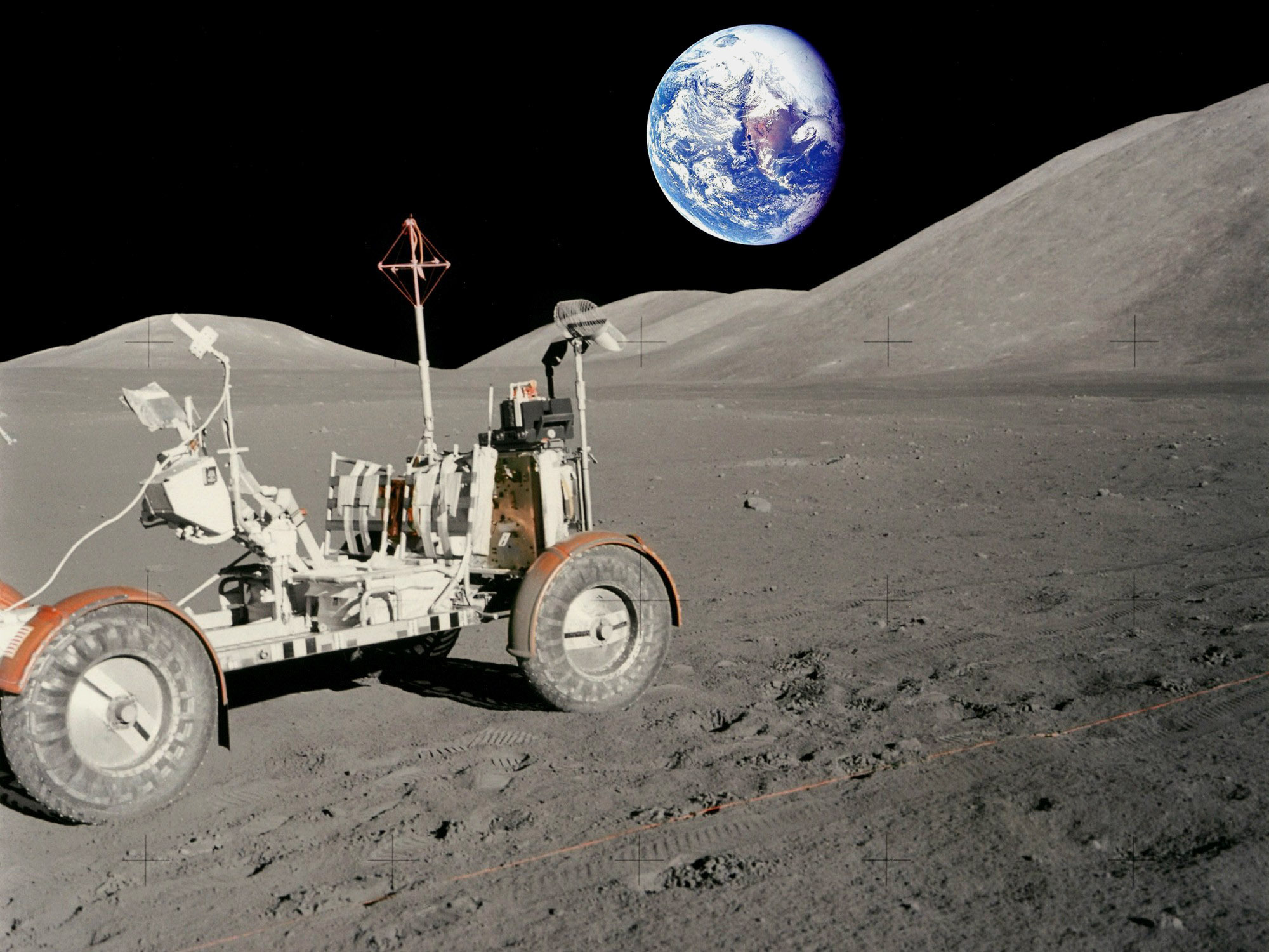 pamantul vazut de pe luna