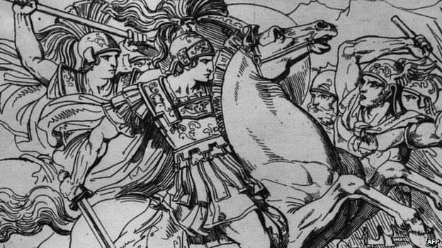 Alexandru cel mare cucereste Persia