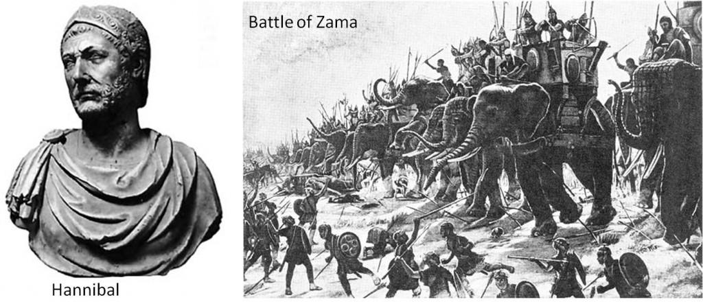 Batalia de la Zama a lui Hannibal