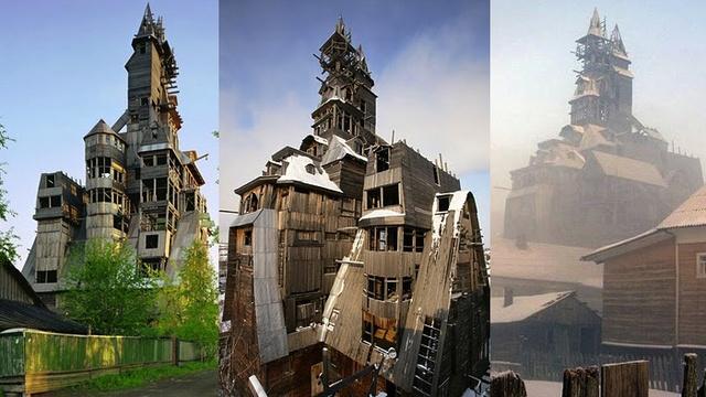 Casa Sutyagin - Rusia