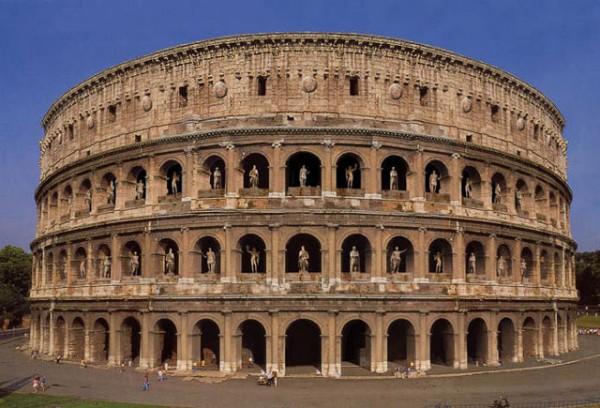 Colosseum-ul din Roma (Italia)