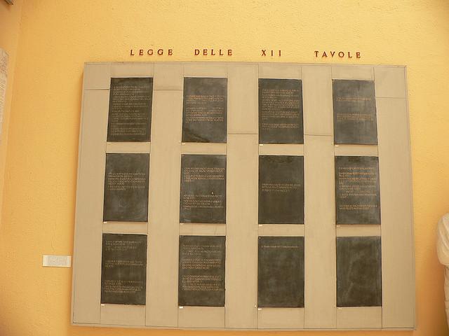 Lex duodecim tabularum