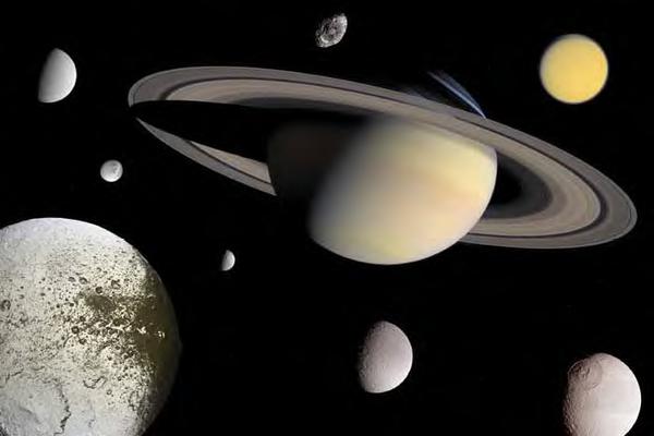 Satelitii lui Saturn