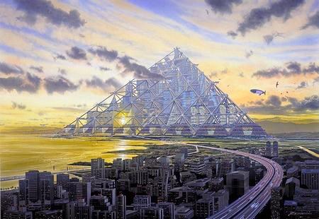 Shimizu Mega-City Pyramid - Tokyo