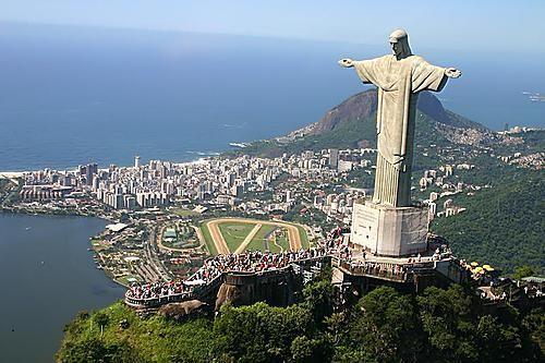 Statuia lui Cristos din Rio de Janeiro (Brazilia)
