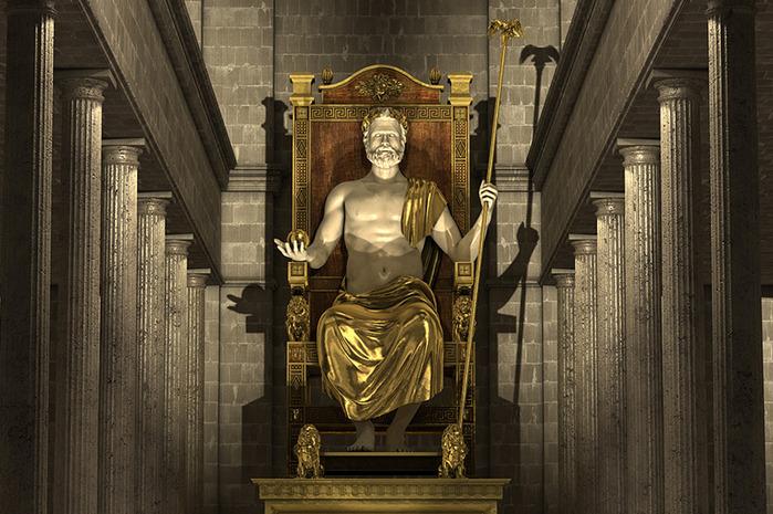 Statuia lui Zeus din Olympia