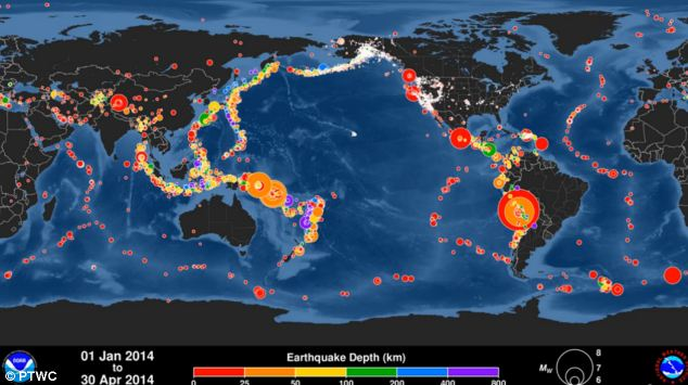 Timelapse cutremure 2014