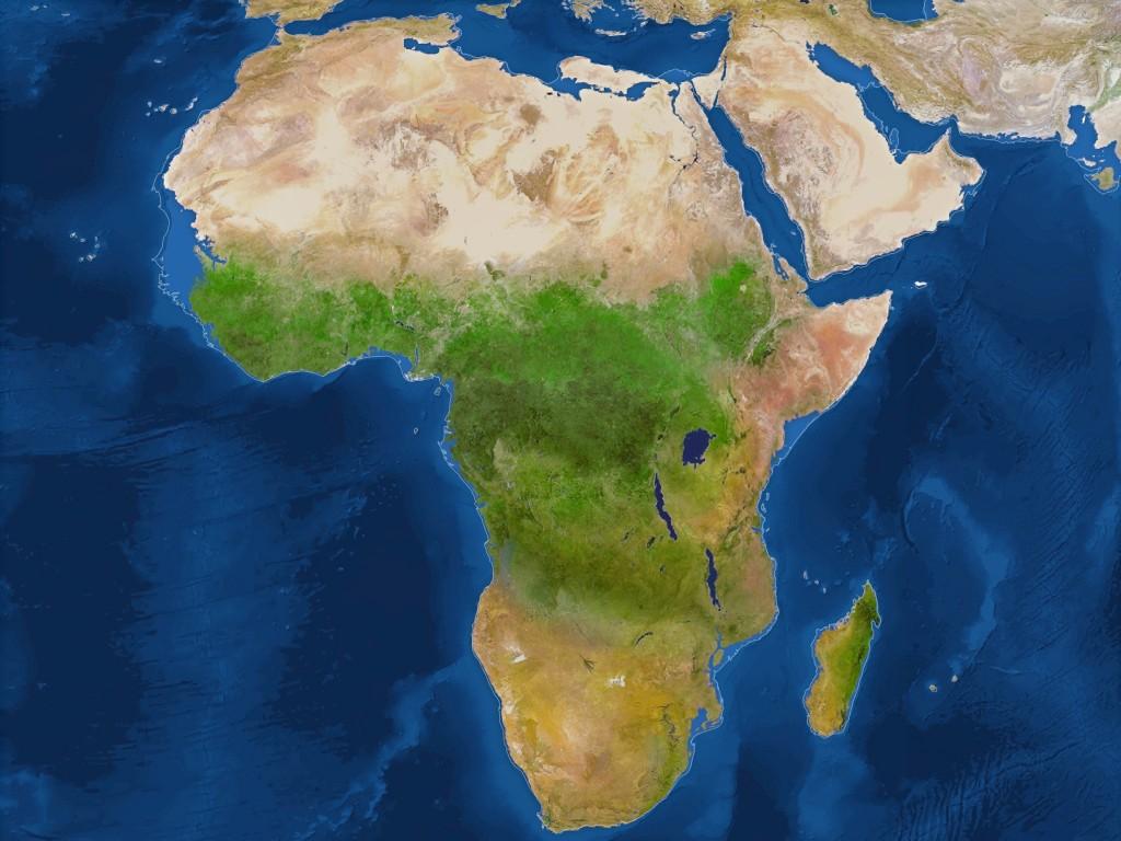 Africa dupa topirea ghetarilor