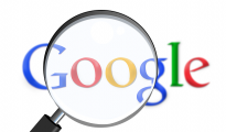 Cautarea pe google