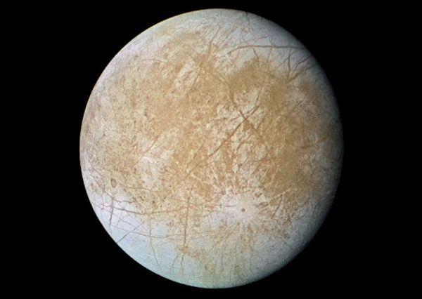 Satelitul lui Jupiter Europa