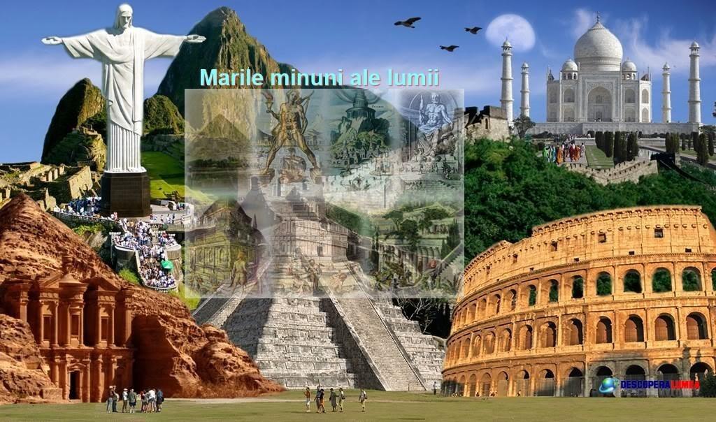 Marile Minuni Ale Lumii Cele Sapte Sau Antice Este O Lista Binecunoscuta A Edificii Din Antichitate