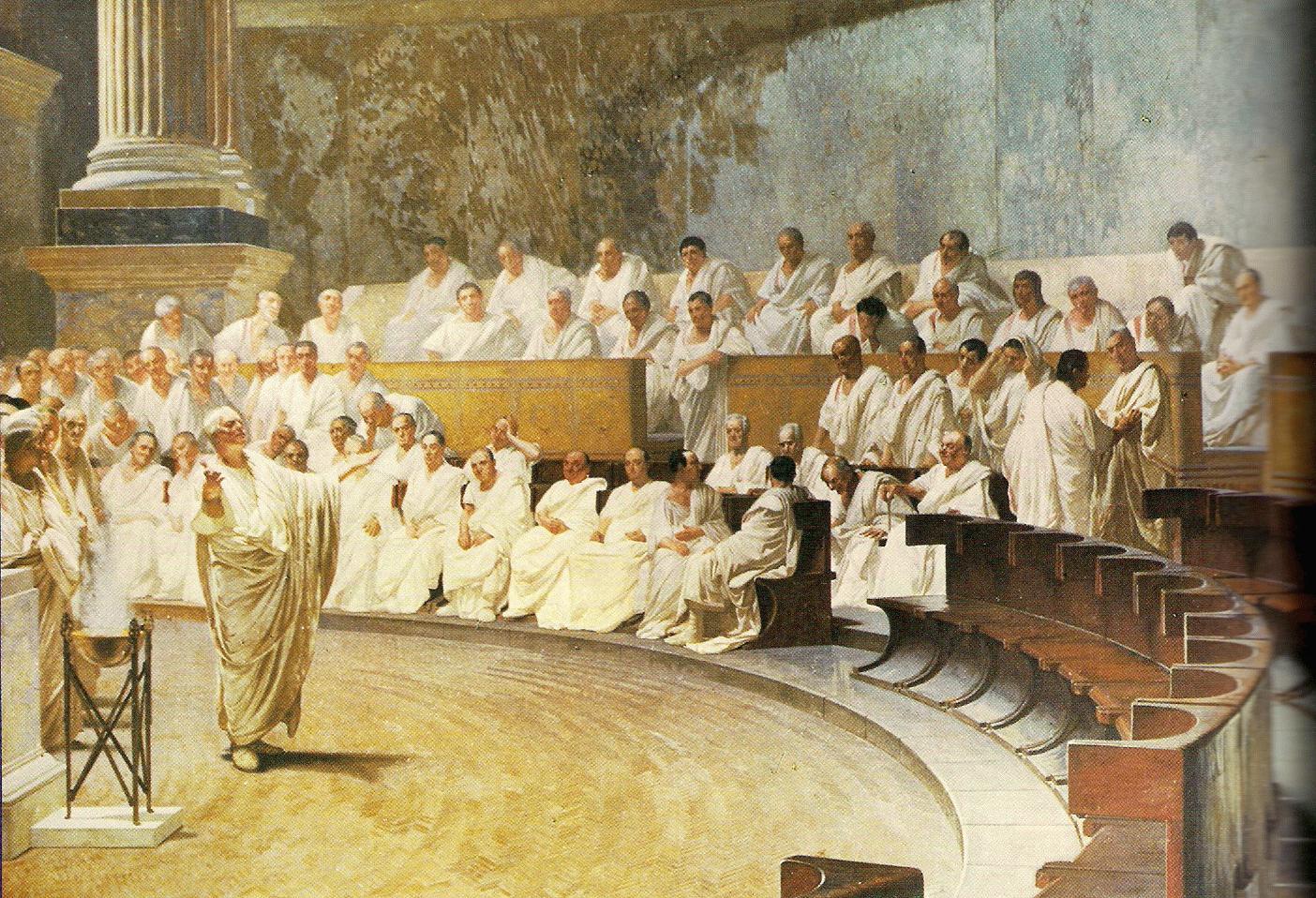 senatul roman