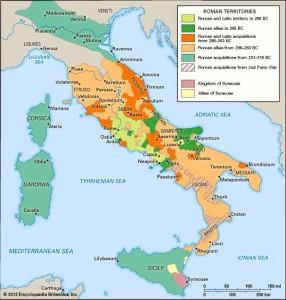 teritorii romane