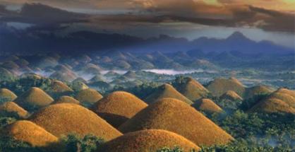 Dealurile de Ciocolata din Filipine