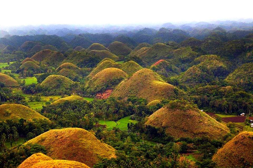 Dealurile de Ciocolata din Insula Bohol