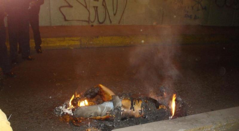 femeie moarta dupa combustia spontana