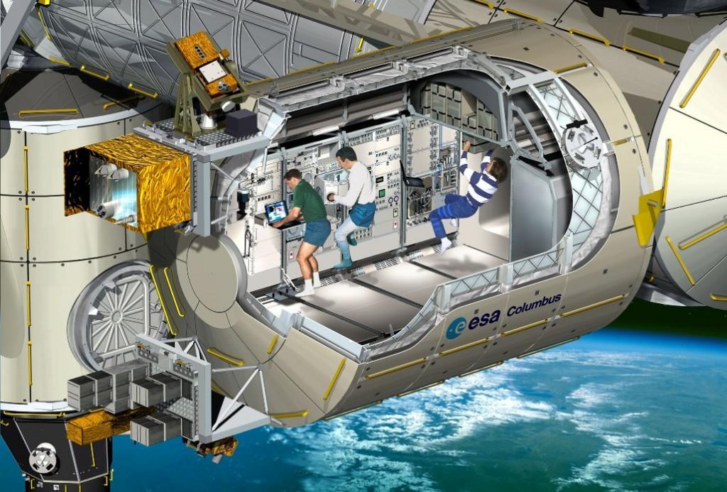 ESA Statia spatiala