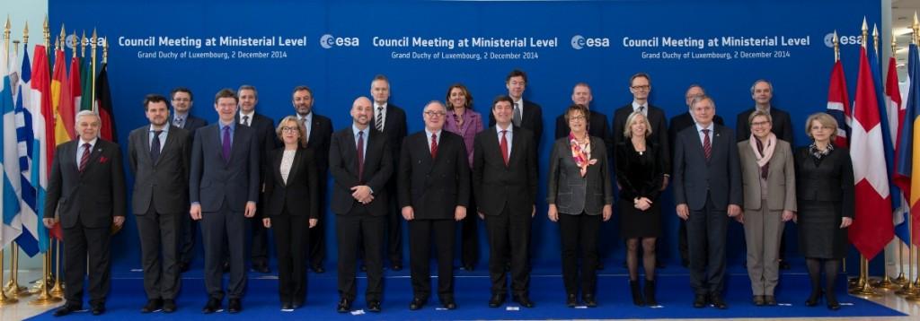 Reprezentantii ESA