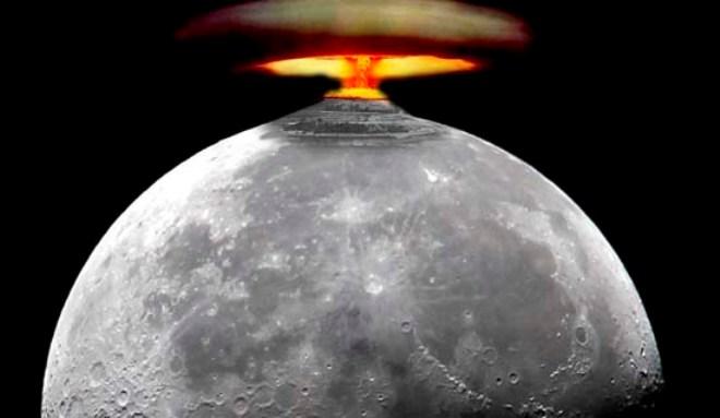 Bomba atomica pe luna