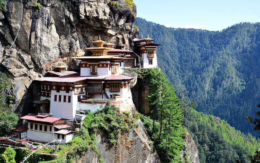 Manastirea Tiger Nest Butan