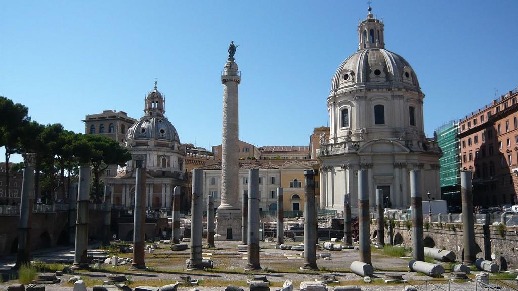 Forul lui Traian - Columna lui Traian