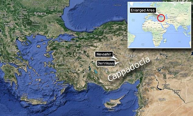 Oras subteran in Turcia