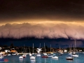 Furtuna apocaliptica apropiindu-se de Syndey
