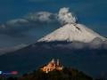 Zapada si Fum Popocatepetl, Mexico